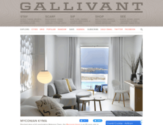 gallivant.com screenshot