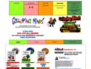 gallopingminds.com screenshot