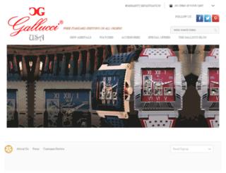 gallucci-usa.com screenshot