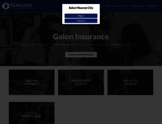 galoninsurance.com screenshot