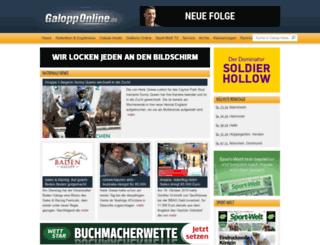 galopp-online.de screenshot