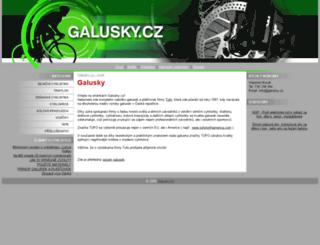 galusky.cz screenshot