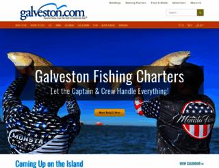 galveston.com screenshot