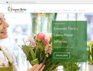 galwayflorists.com screenshot