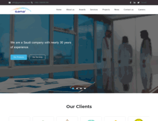 gama-ksa.com screenshot