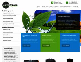gama-plastic.pl screenshot