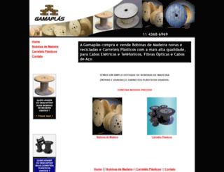 gamaplas.com.br screenshot
