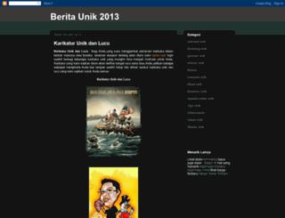gambarunik1.blogspot.com screenshot