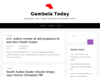 gambelatoday.com screenshot