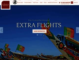 gambia.co.uk screenshot