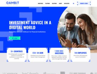 gambit-finance.com screenshot
