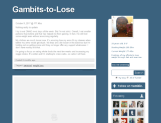 gambits-to-lose.tumblr.com screenshot