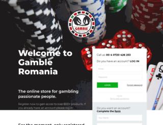 gambleromania.com screenshot