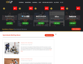 gamblerspalace.com screenshot
