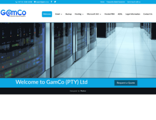 gamco.co.za screenshot