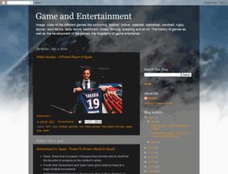 game-entertainment.blogspot.com screenshot
