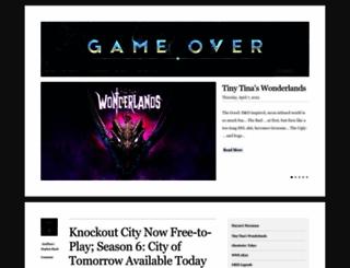 game-over.com screenshot