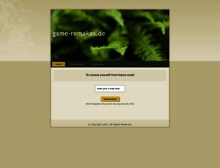 game-remakes.de screenshot