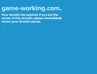game-working.com screenshot