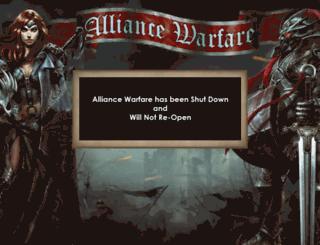 game.alliancewarfare.com screenshot