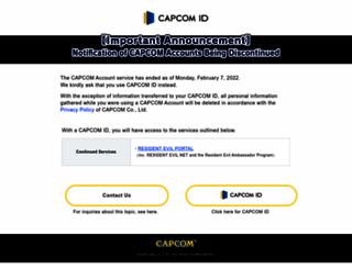 game.capcom.com screenshot