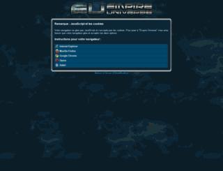 game.empireuniverse3.fr screenshot