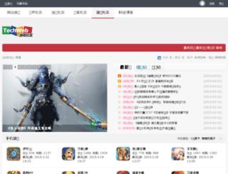 game.techweb.com.cn screenshot