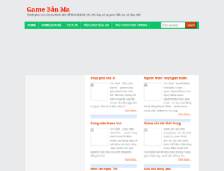gamebanma247.blogspot.com screenshot