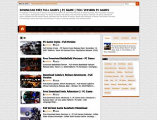 gamebaseup.blogspot.com screenshot