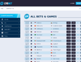 gamebets.ru screenshot