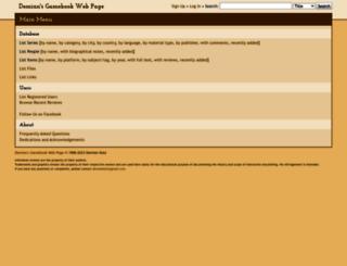 gamebooks.org screenshot