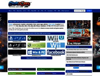 gameboy-cheats.cheatcodes.com screenshot