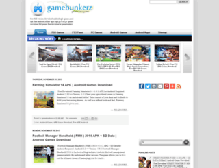 gamebunkerz.blogspot.com screenshot