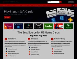 gamecarddelivery.com screenshot