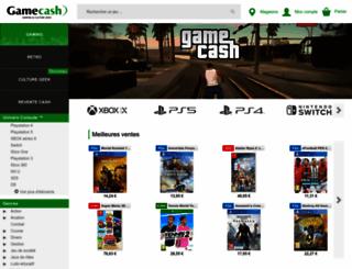 gamecash.fr screenshot