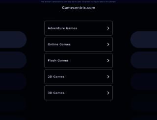 gamecentrix.com screenshot