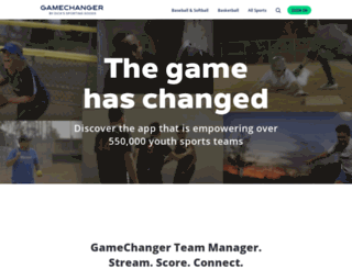 gamechanger.com screenshot