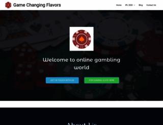 gamechangingflavors.com screenshot