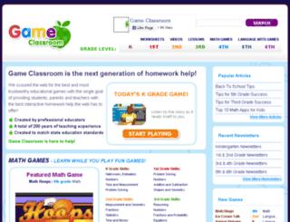 gameclassroom.com screenshot