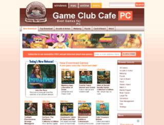 gameclubcafe.com screenshot