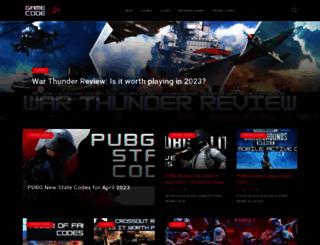 gamecodecity.com screenshot