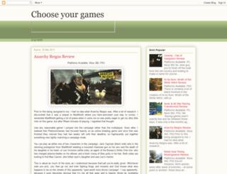 gamecomputereview.blogspot.com screenshot