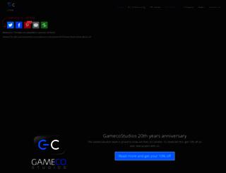 gamecostudios.com screenshot