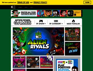 gamecreator.cartoonnetwork.com screenshot