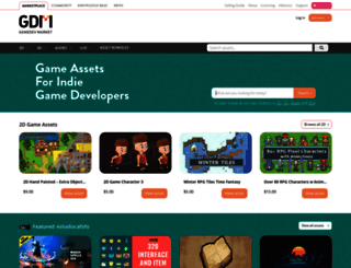 gamedevmarket.net screenshot