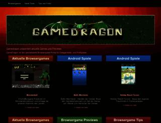 gamedragon.de screenshot