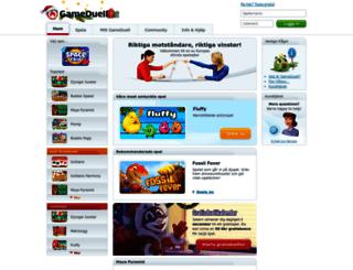 gameduell.se screenshot