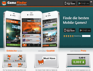 gamefinder.de screenshot