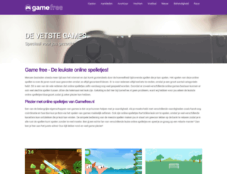 gamefree.nl screenshot
