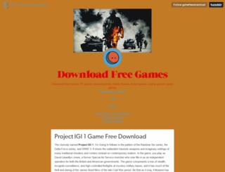 gamefreedownload.tumblr.com screenshot